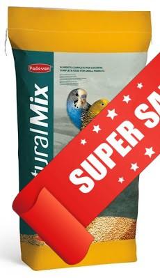 Корм для волнистых попугаев Padovan NaturalMix Cocorite 1 кг