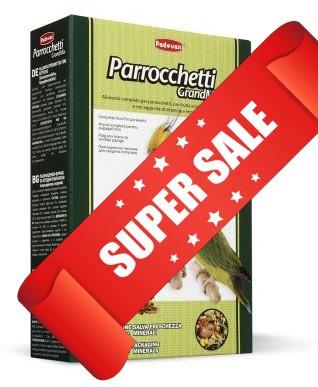 Корм для средних попугаев (неразлучники, кореллы) Padovan GrandMix Parrocchetti 400 г