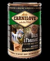 Carnilove Dog k 400 g с уткой и фазаном