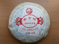 Чай Шен Пуэр Чжай Зи По (400 гр блин)