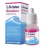 Artelac Rebalance - для увлажнения глаз и контактных линз, 10 мл