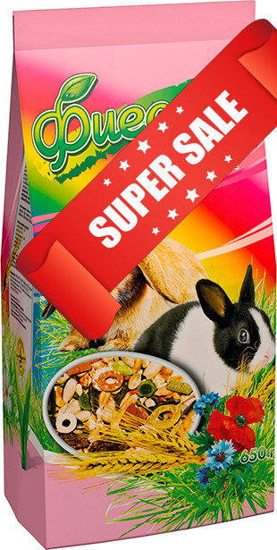 Корм для декоративных кроликов Природа Фиеста Кролик 650 г