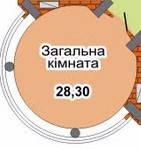 Квартира находится в ЖК Златоустовский, город Киев.