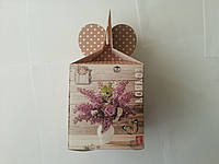 Коробка подарочная 9 х 10 х 9 см код (код 04294)