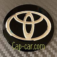 Наклейки для дисков с эмблемой Toyota. ( Тойота ) Цена указана за комплект из 4-х штук