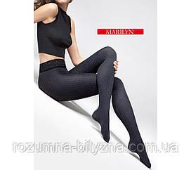 Колготи жіночі 60Den GRACE melange/black. ТМ Marilyne. 1/2
