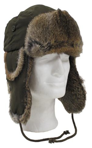 Шапка-ушанка, натуральный мех Fox Outdoor 10021