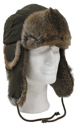 Шапка-ушанка, натуральный мех Fox Outdoor 10021, фото 2