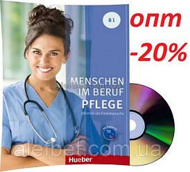 Немецкий язык / Menschen im Beruf / Pflege. Kursbuch+CD. Учебник с диском, B1 / Hueber