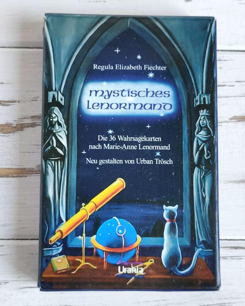 Таро  Ленорман мистические  Mystisches Lenormand