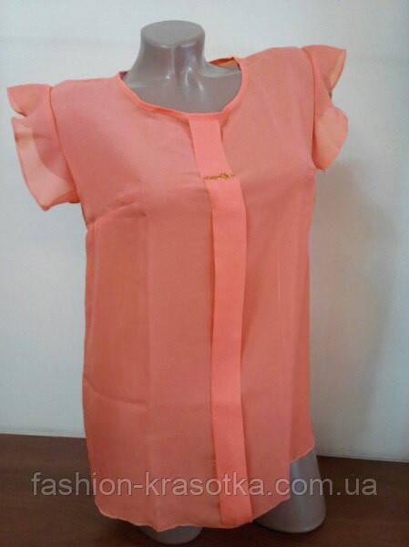 Блузка  шифоновая Сьюзи,размеры 42,44,46., фото 1