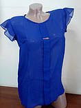 Блузка  шифоновая Сьюзи,размеры 42,44,46., фото 2