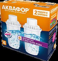 Аквафор B100-6 / для жесткой воды / комплект: 2 картриджа