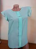 Блузка  шифоновая Сьюзи,размеры 42,44,46., фото 4