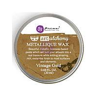 Віск - Vintage Gold - Finnabair Art Alchemy - Prima Marketing