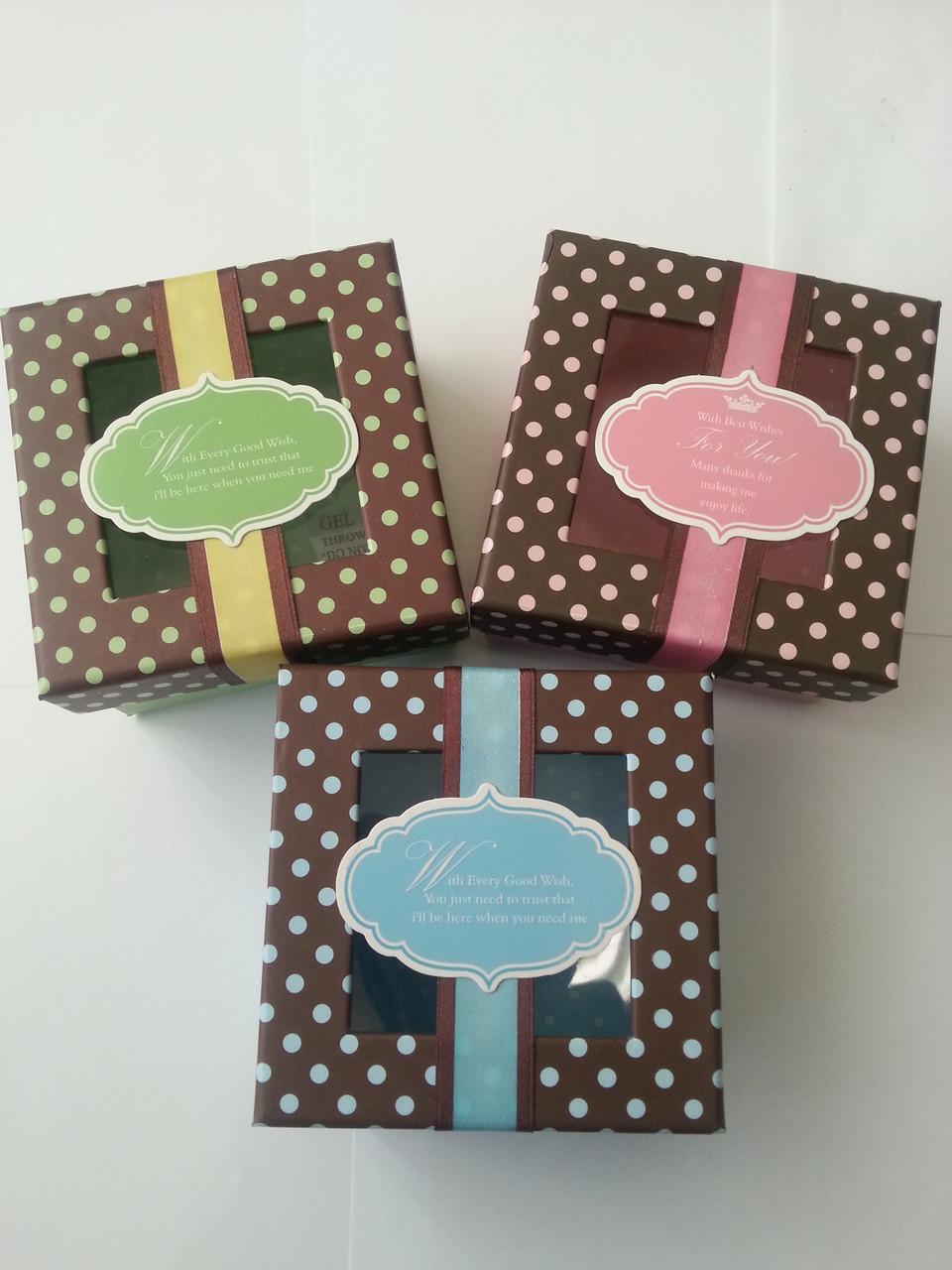 "Коробка подарочная ""For you"" 9 х 9 х 5 см код (04298)"