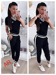 Стильный женский черный костюмы  Люкс качество (Фабричный Китай )
