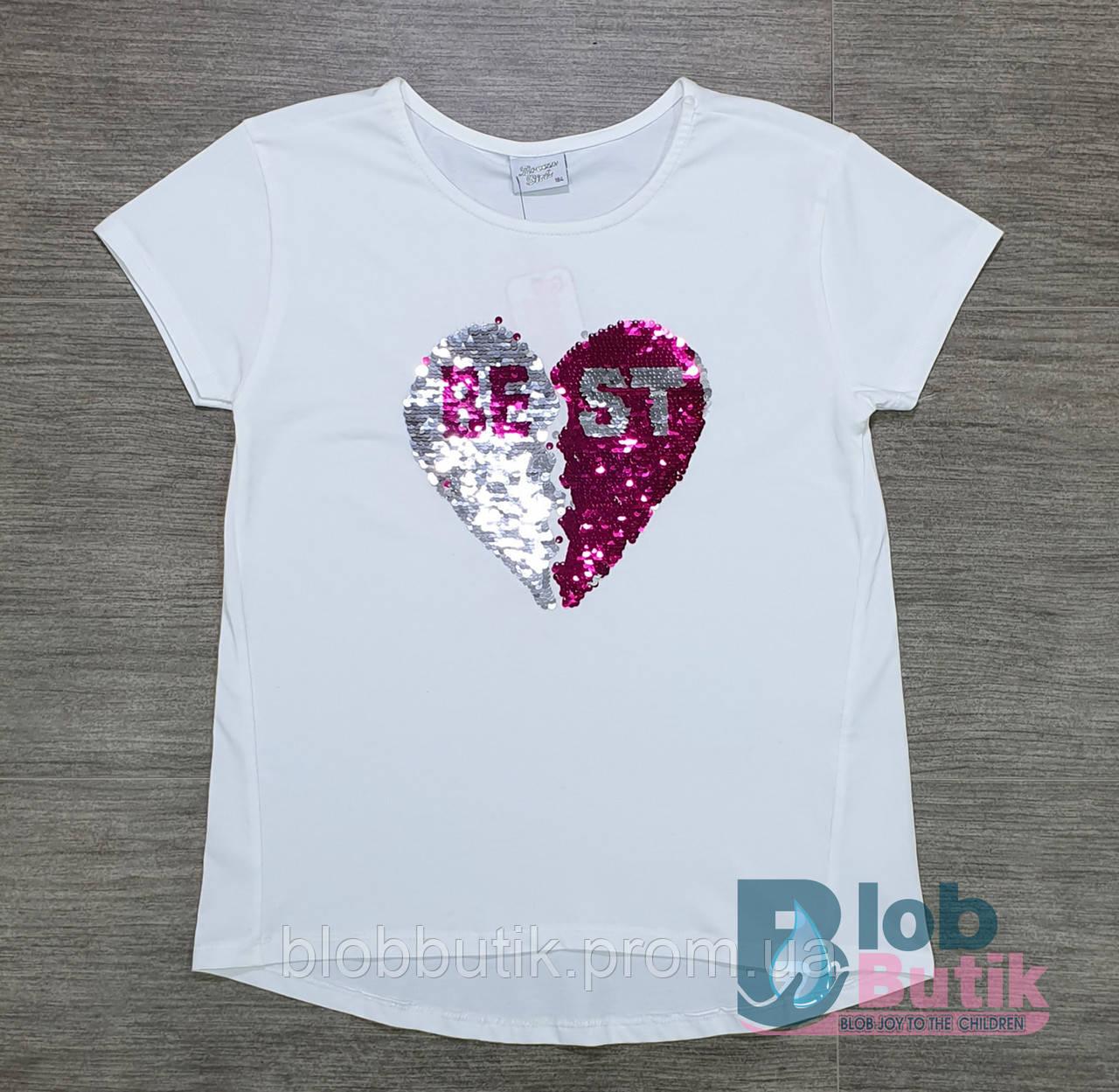 Подросковая футболка Breeze для дівчинки.
