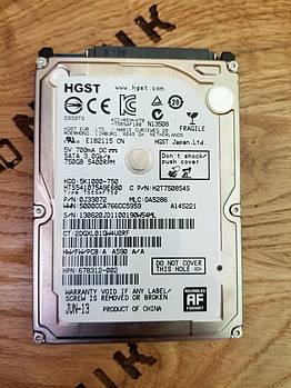 Жесткий диск для ноутбука Hitachi Travelstar 5K1000 750GB