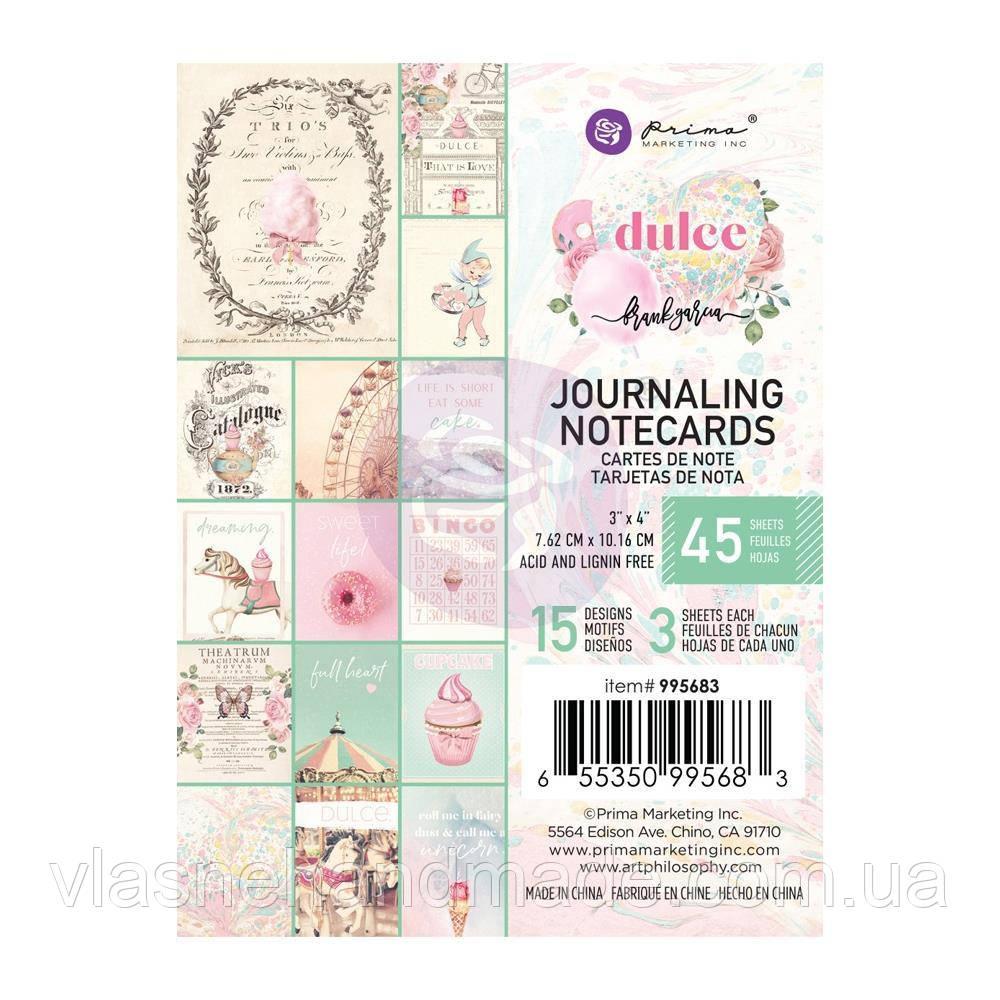 Карточки - Dulce - Prima Marketing - 7.5x10 Ціна за 1.3 набору!