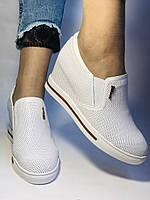 Хіт! Стильні жіночі кеди-білі кросівки.Натуральна шкіра. Розмір 39., фото 6
