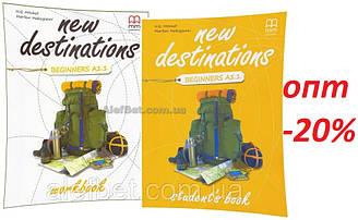 Английский язык / New Destinations / Student's+Workbook. Учебник+Тетрадь (комплект), Beginners A1.1 / MM