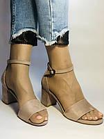 Высокое качество! Женские босоножки с открытым носом,на среднем каблуке,с ремешком на щиколотке.36-40.Vellena, фото 7