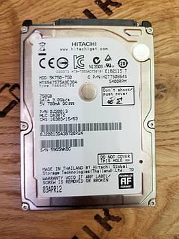 Жесткий диск для ноутбука Hitachi Travelstar 5K750 750GB