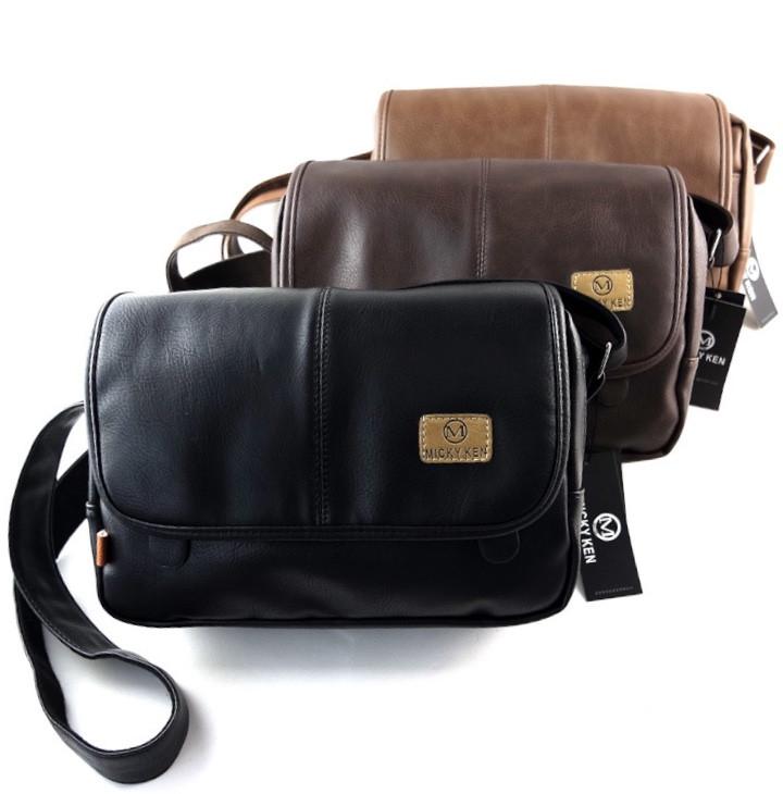 Мужская кожаная сумка. Модель 61259