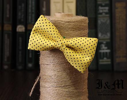 Галстук-бабочка i&m (010504) Yellow, фото 2