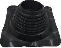 Покрівельний прохід Майстер Flash прямий чорний (100-180 мм)