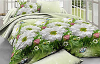 Комплект постельного белья двуспальный евро бязь