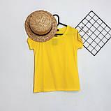 Футболка женская обличающая, максимальная классика, натуральная ткань, 8 цветов р.42-46 код 725Г, фото 5