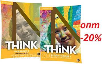 Английский язык / Think / Student's+Workbook. Учебник+Тетрадь (комплект), 3 / Cambridge