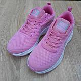 🔥 Женские кроссовки повседневные Nike Flyknit Lunar 3 розовые плотная ткань найк флайкнит, фото 8