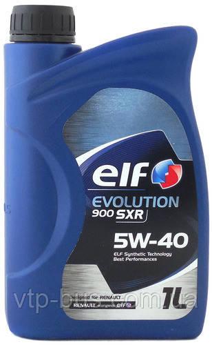 Масло моторное, ELF Evolution 900 SXR 5W40 (1 Liter)