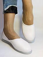 Стильные! Женские туфли -балетки из натуральной кожи 37 38 39 40 41. Супер комфорт.Vellena, фото 2