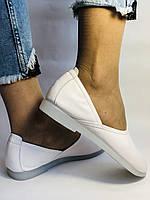 Стильные! Женские туфли -балетки из натуральной кожи 37 38 39 40 41. Супер комфорт.Vellena, фото 5