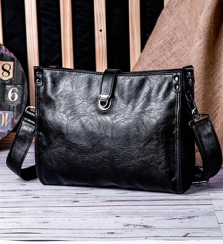 Мужская кожаная сумка. Модель 61266