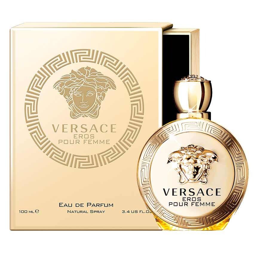 Versace Eros Pour Femme Парфюмированная вода 100 ml (Версаче Эрос Ерос Пур Фемме Фем Фим) Женский Парфюм Духи