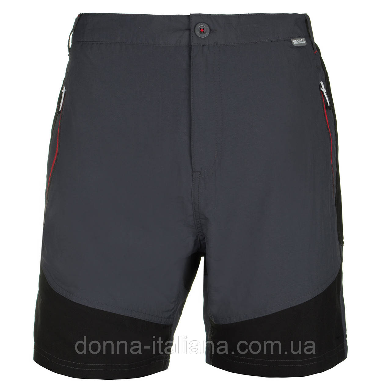 Чоловічі шорти Regatta Sungari L Grey-Black