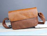 Мужская кожаная сумка. Модель 61268, фото 3