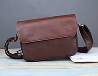 Мужская кожаная сумка. Модель 61268, фото 4
