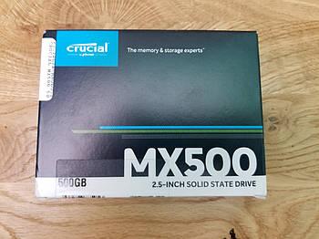 """SSD Crucial MX500 500GB 2.5"""" SATAIII 3D TLC"""