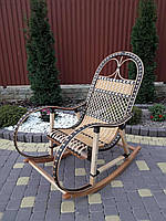Кресло-качалка из лозы - разборная (НОВИНКА), фото 1