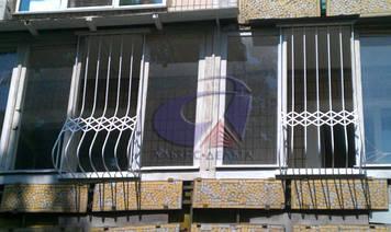Решетка на окно выпуклая, луковица Шир.770*Выс.1700мм