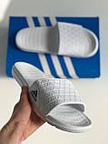 Шльопанці Adidas White, фото 2