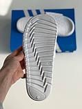 Шльопанці Adidas White, фото 3