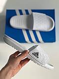 Шльопанці Adidas White, фото 5