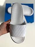 Шльопанці Adidas White, фото 6
